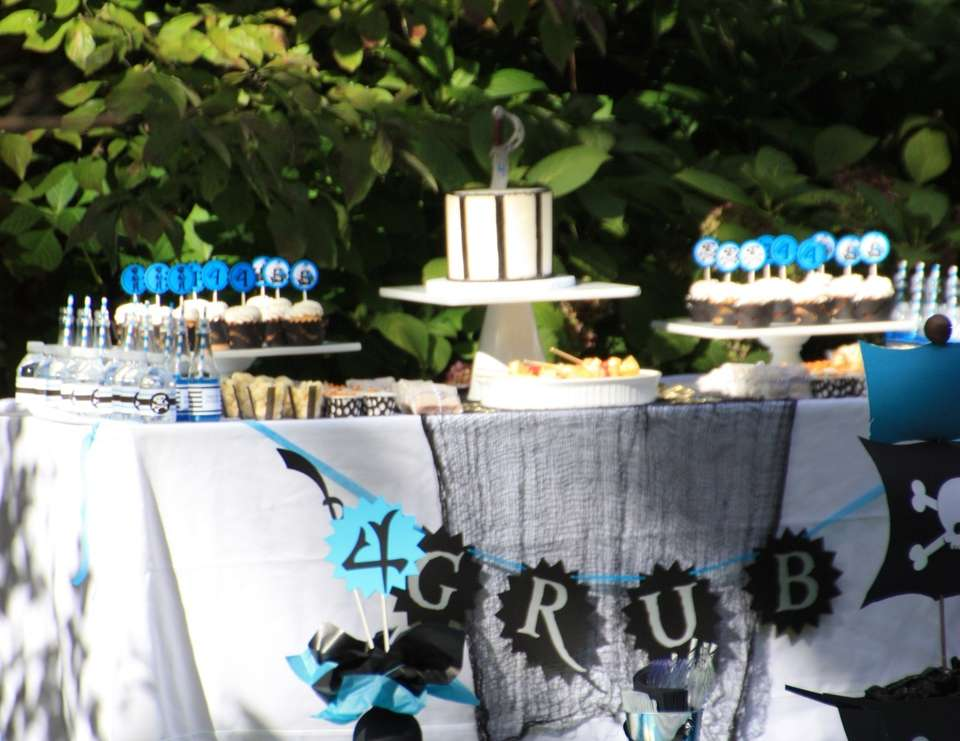 Blue Pirates Party - Pirate Party