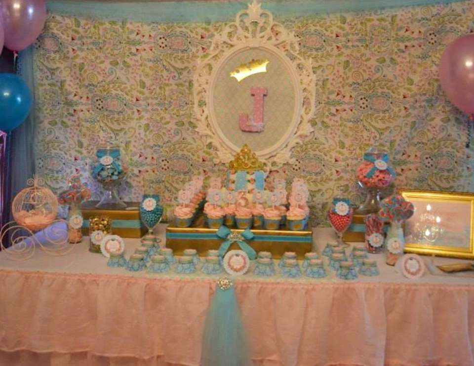 Princess Jaidyn's Royal Celebration - Shabby Chic, Vintage Glam