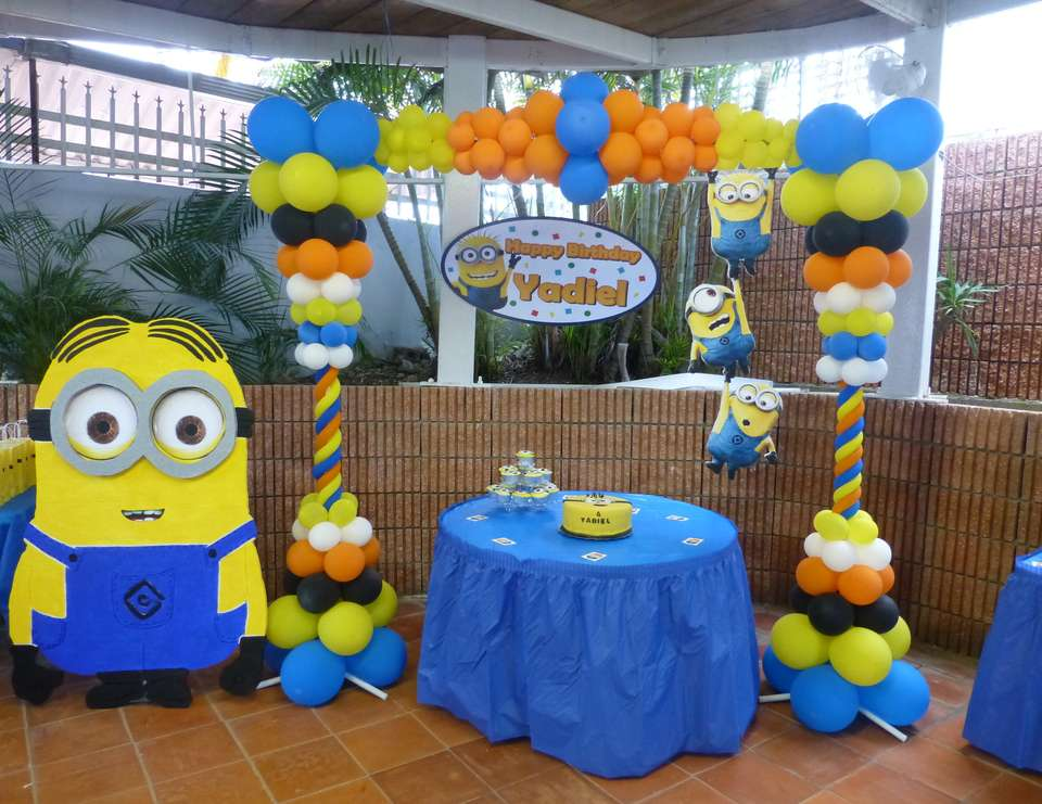 Despicable Me Yadiel's Birthday - Despicable Me