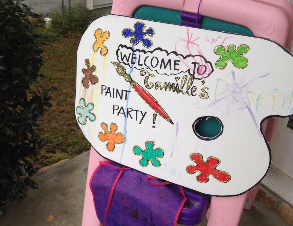 Camille's Lala Paint Party - Lalaloopsy Inspired and Paint