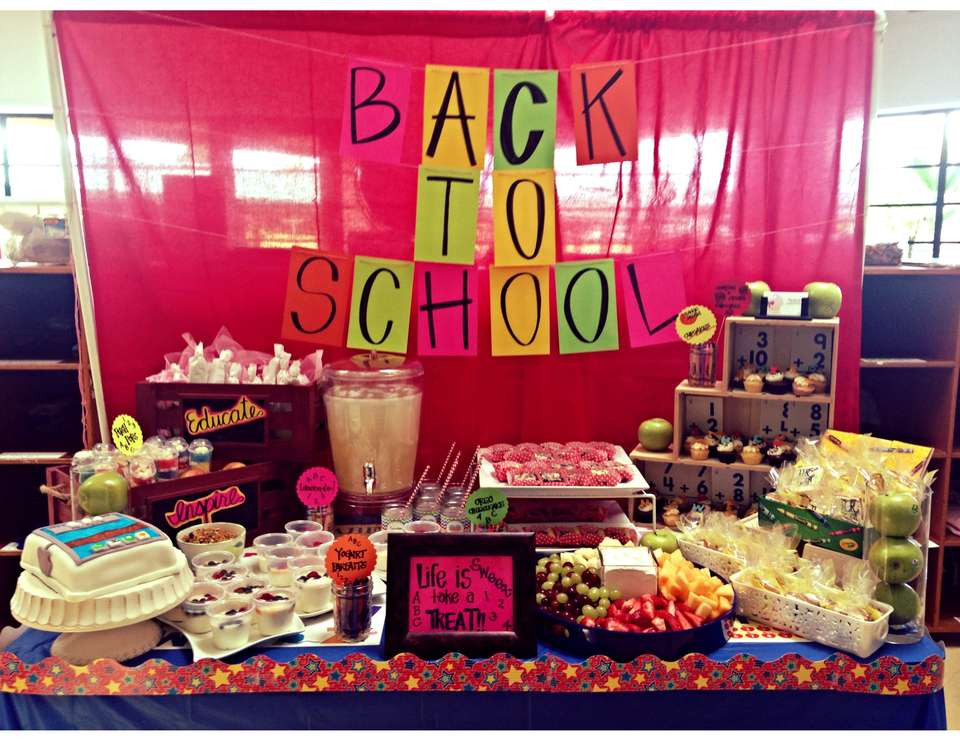 Back to School SWEET TREATS! - None