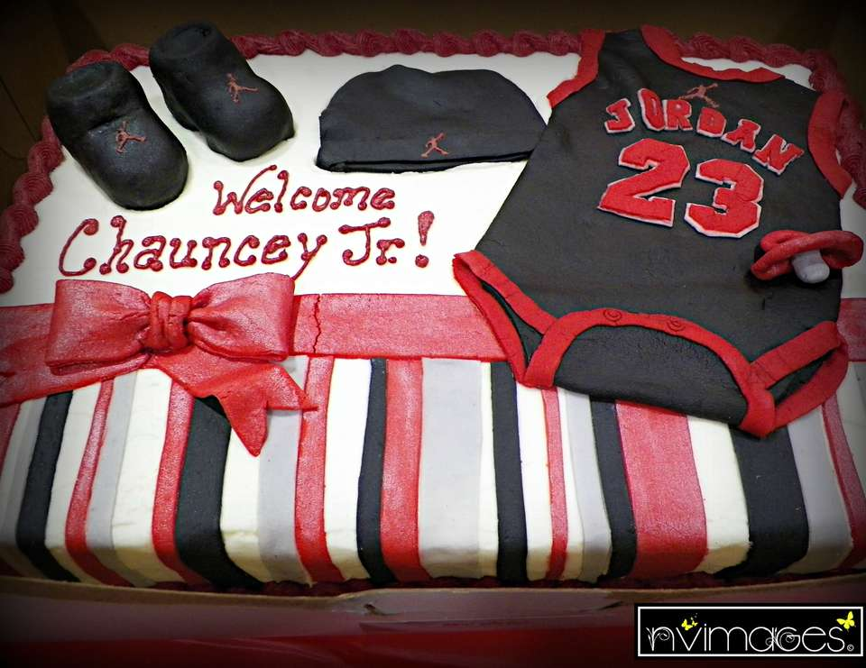various colors 90ba3 93731 Ashley s Michael Jordan Jumpman Themed Baby Shower