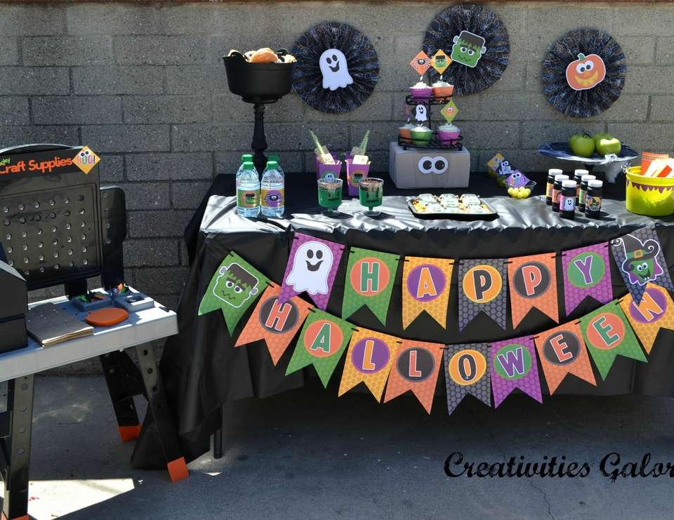 Halloween Craft Party - Halloween Party
