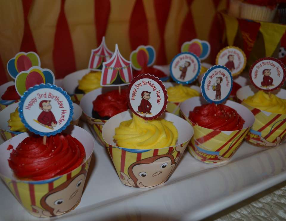 Curious Hunter's 3rd Birthday  - Curious George at the Circus