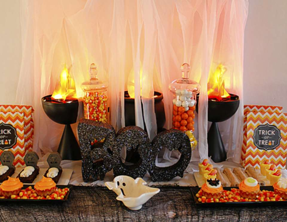 A Boo-tiful Halloween Party - Halloween party for kids