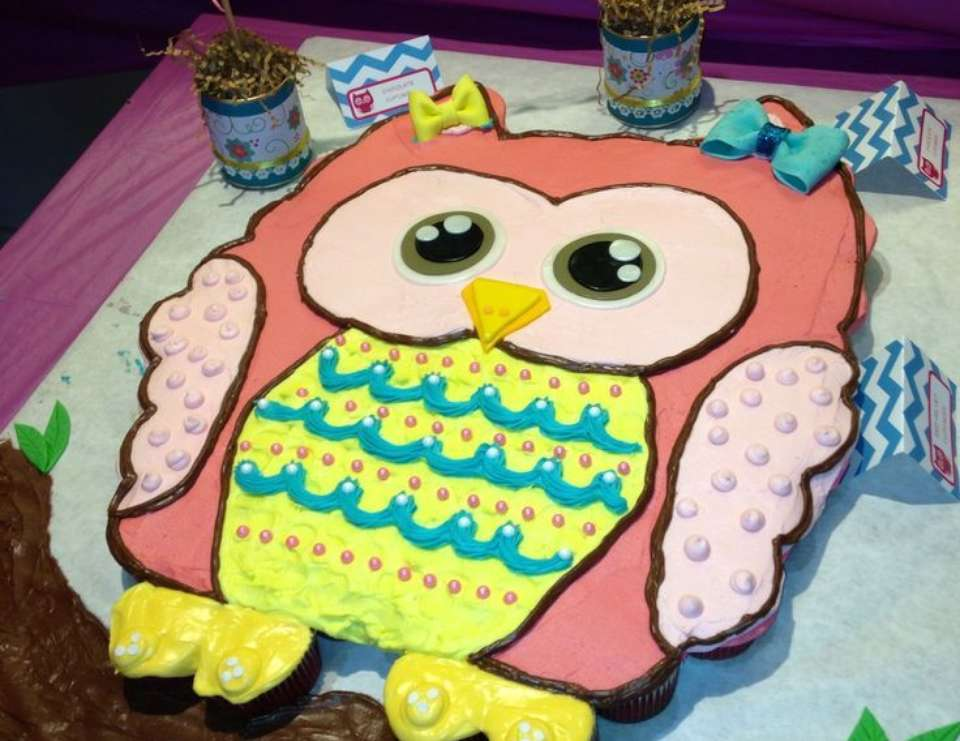 Admirable Owls Birthday Rydens Owl First Birthday Party Catch My Party Funny Birthday Cards Online Fluifree Goldxyz