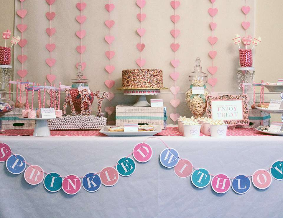 Sprinkled With Love Baby Shower - None