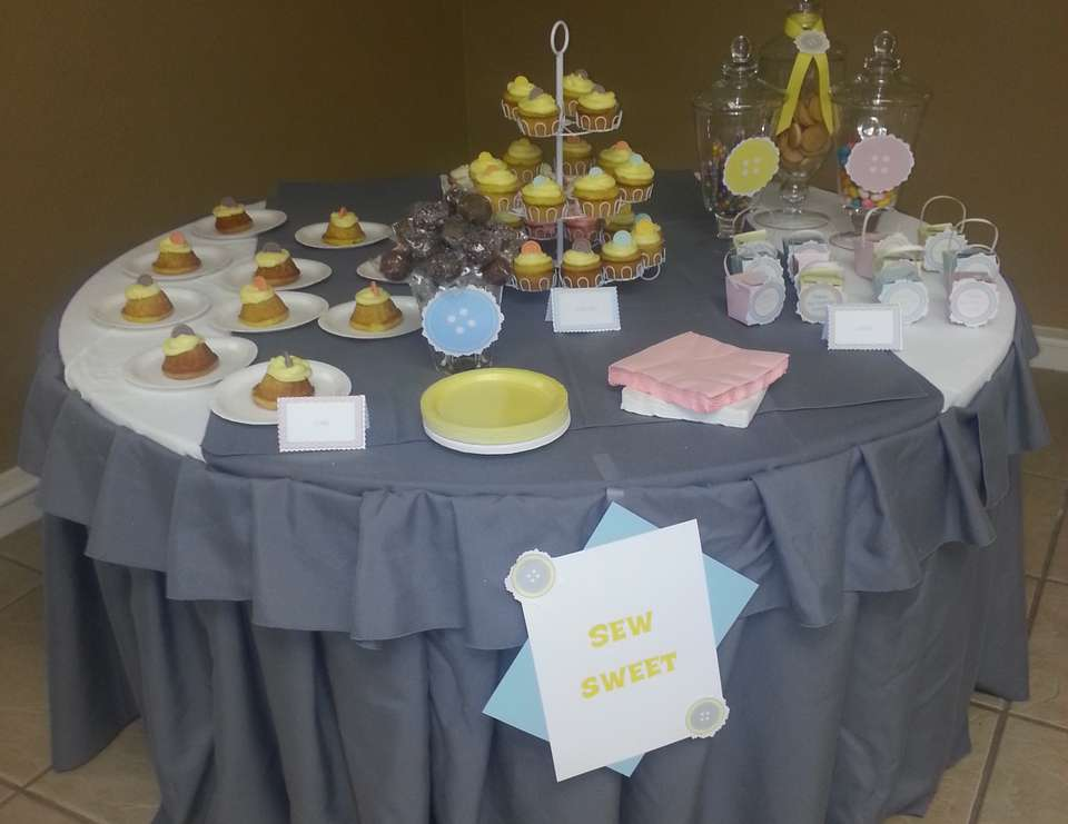 Sarah's Baby Shower - Cute as a Button