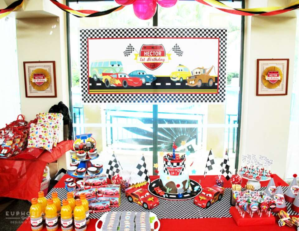 Hector Disney Cars Birthday - Disney Cars