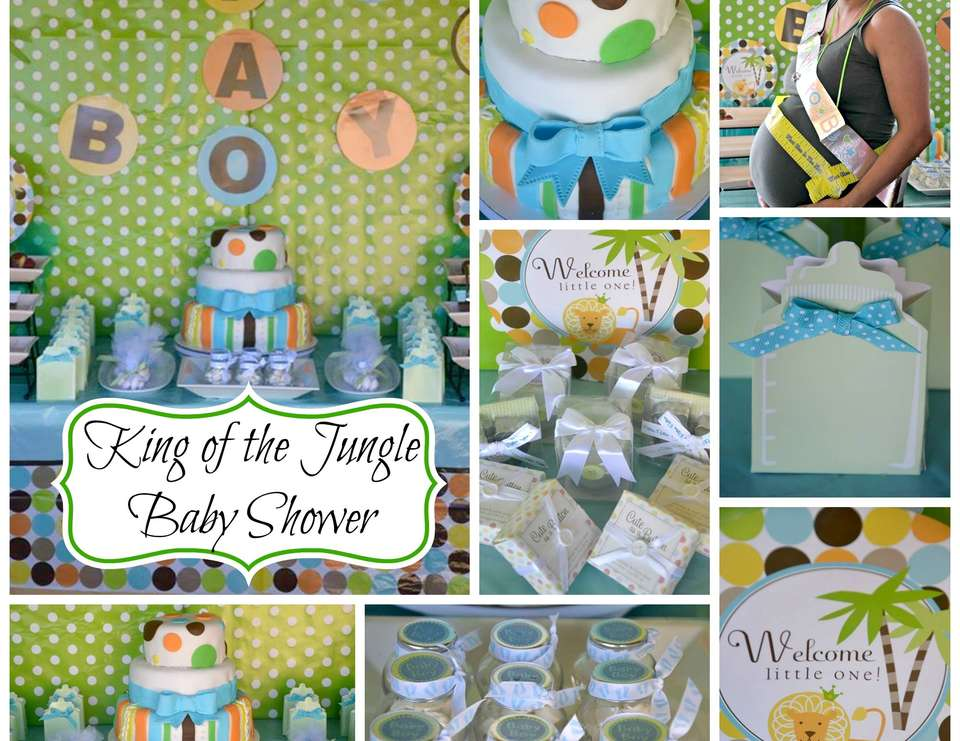 King of The Jungle Baby Shower - None