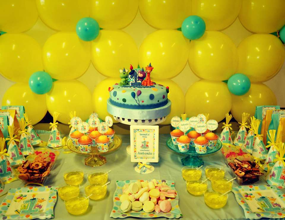 Primo Compleanno - Baby Animals