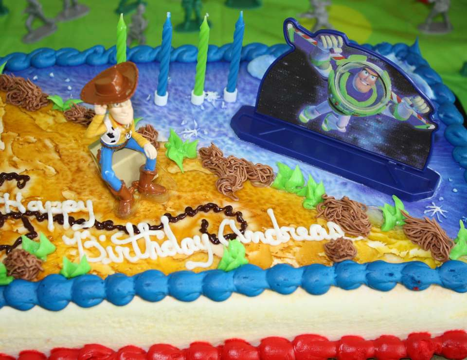 Toy Story - Buzz/Woody 4th Birthday Party - Toy Story