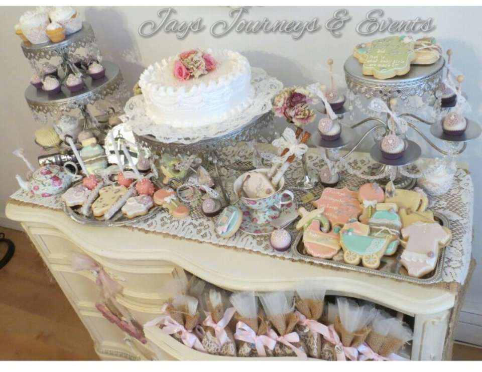 Destinee's tea party - Vintage Tea Party