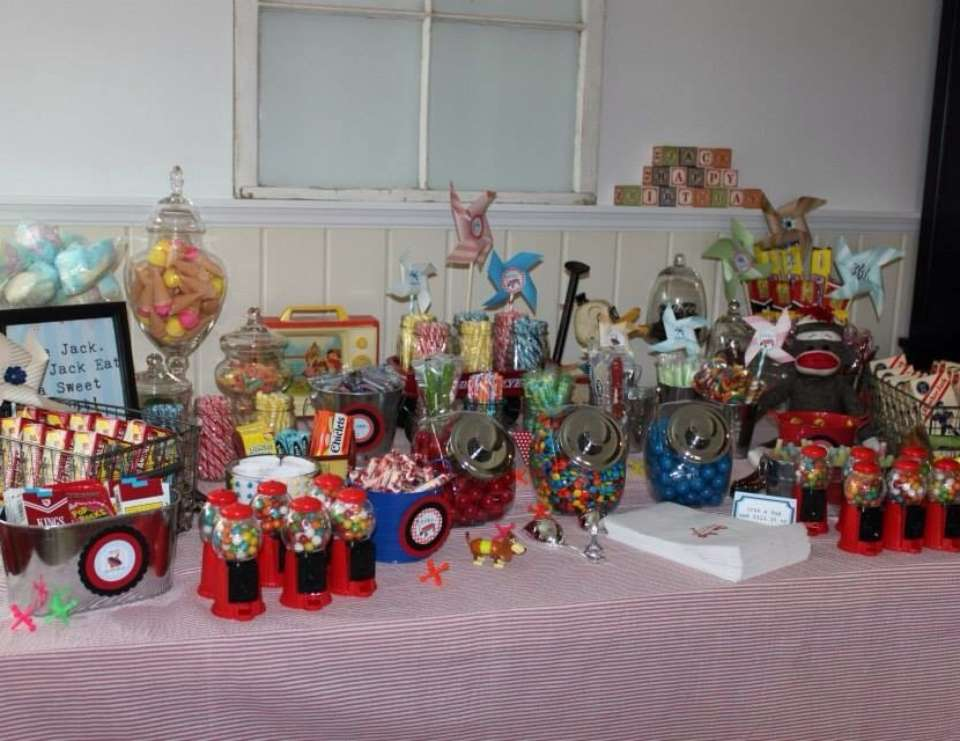 Jack's Vintage Toy Party - Vintage Toy