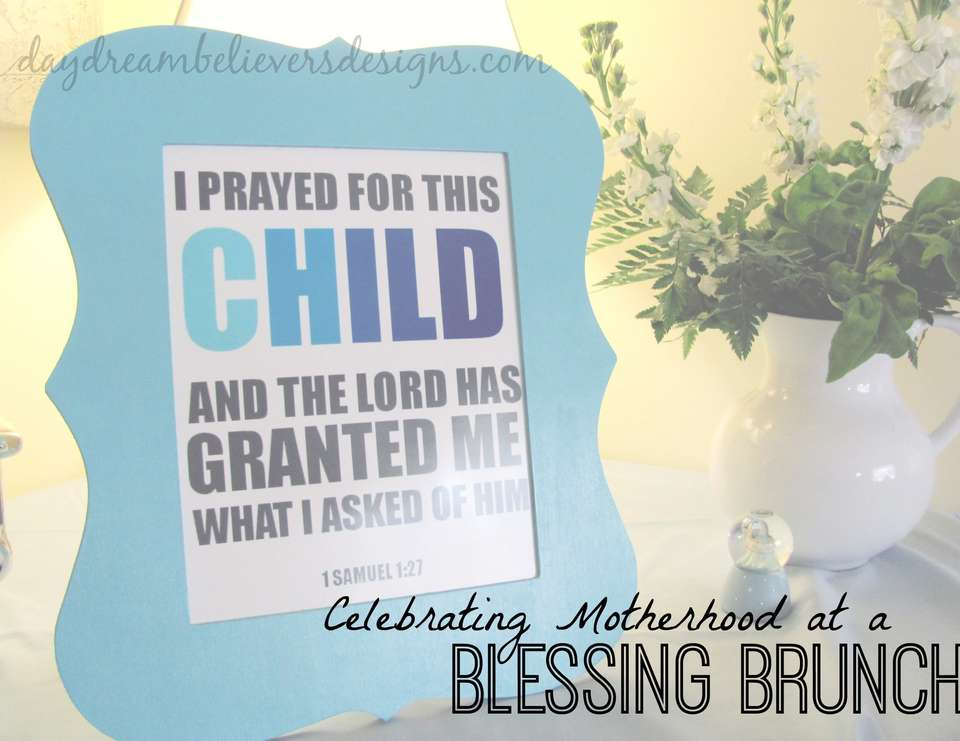 Celebrating Baby & MOM and at Blessings Brunch - An Intimate celebration to honor a Mother-to-be