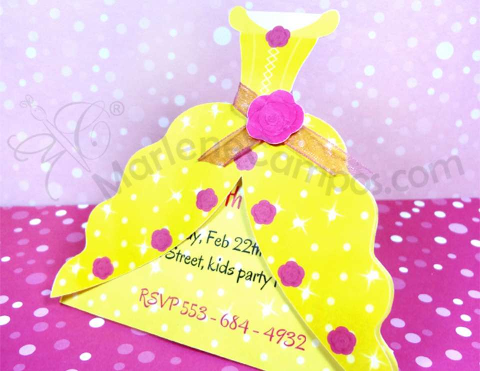 Princess Invitations - None