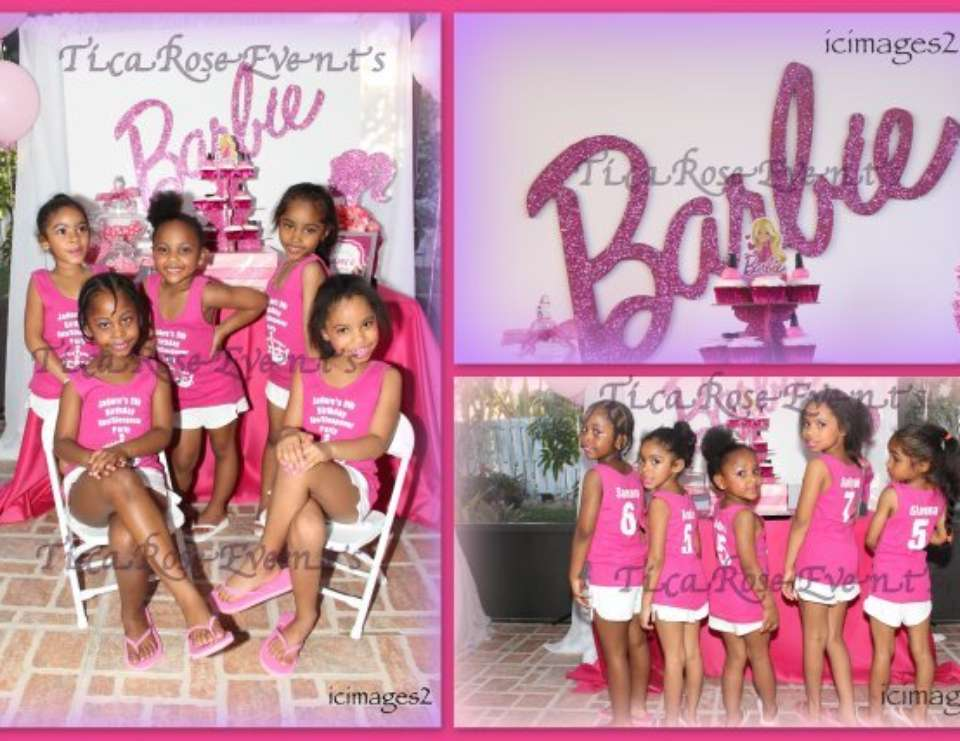 Barbie Spa Party  - Spa + Sleepover