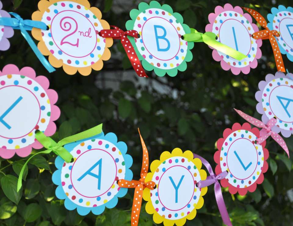 Colorful Polkadots Birthday Party - Kid's Birthday