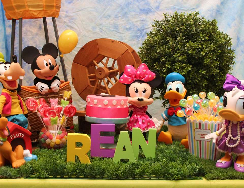 """Rean Turns 1"" - Mickey Mouse Clubhouse"