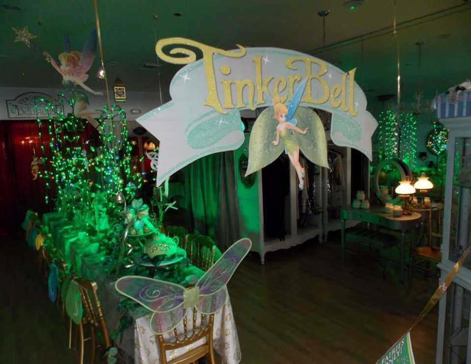 Tinkerbell Tea Party - Tinkerbell