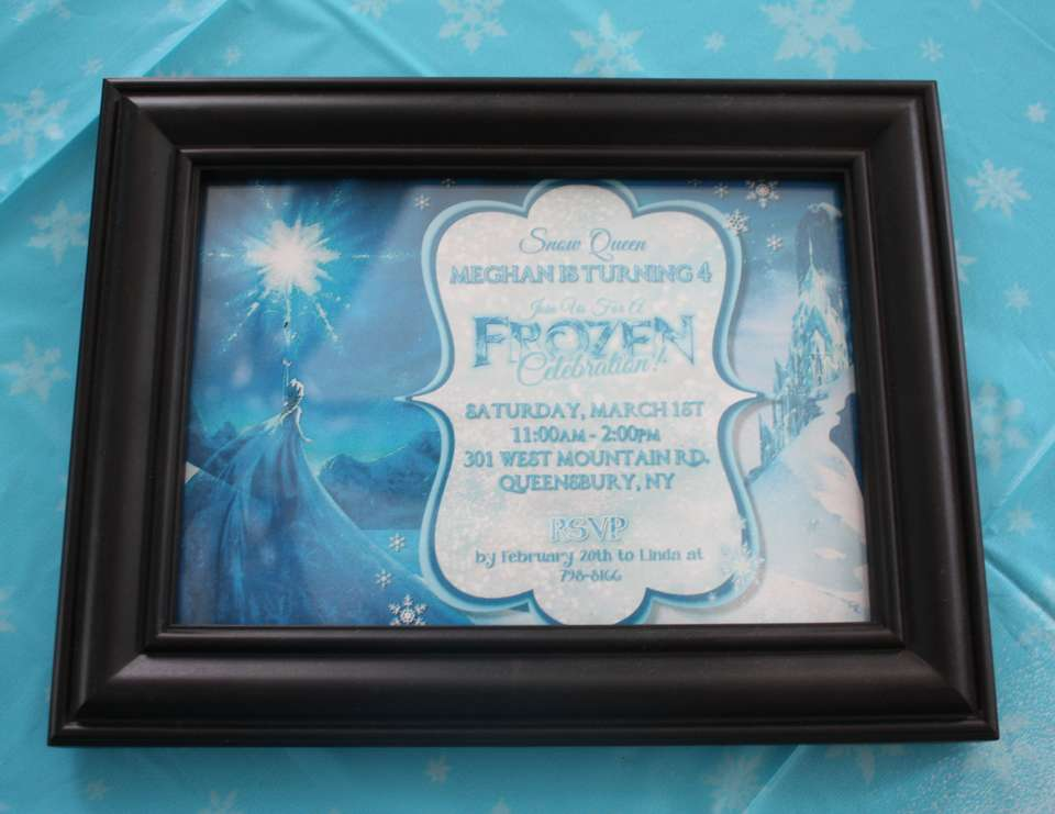 Meghan's 4th Birthday: Frozen - None