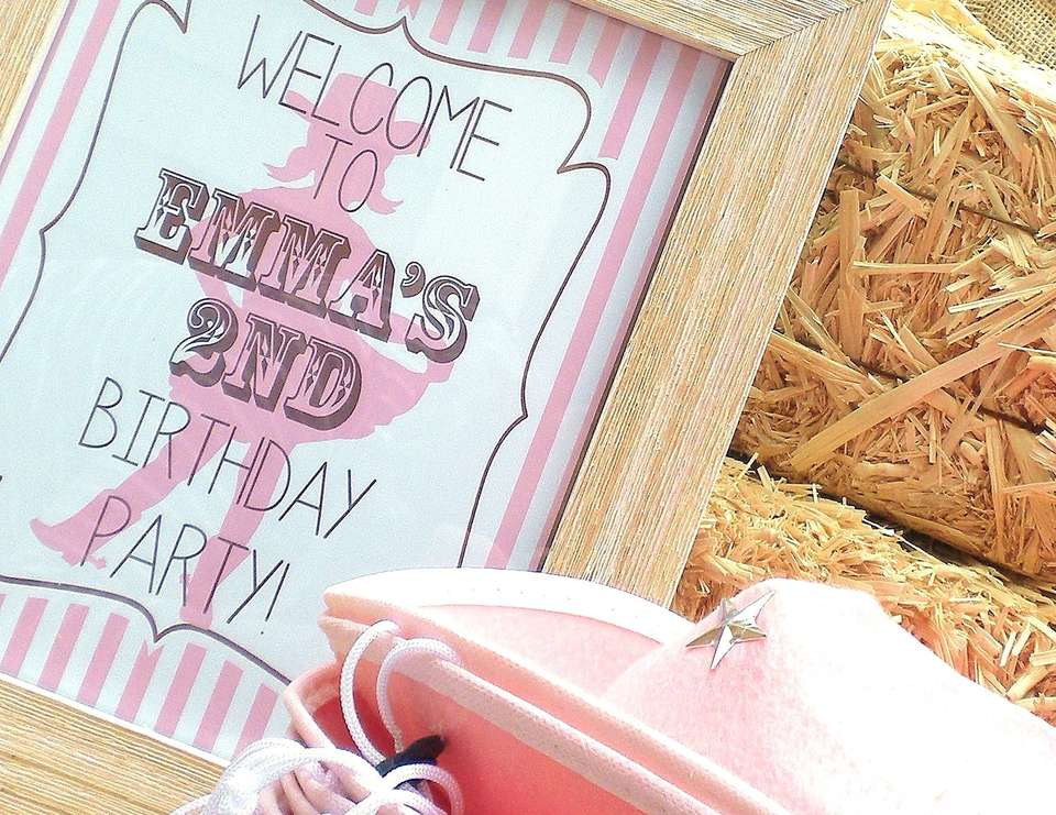 Emma's Vintage Cowgirl Party - Vintage Cowgirl