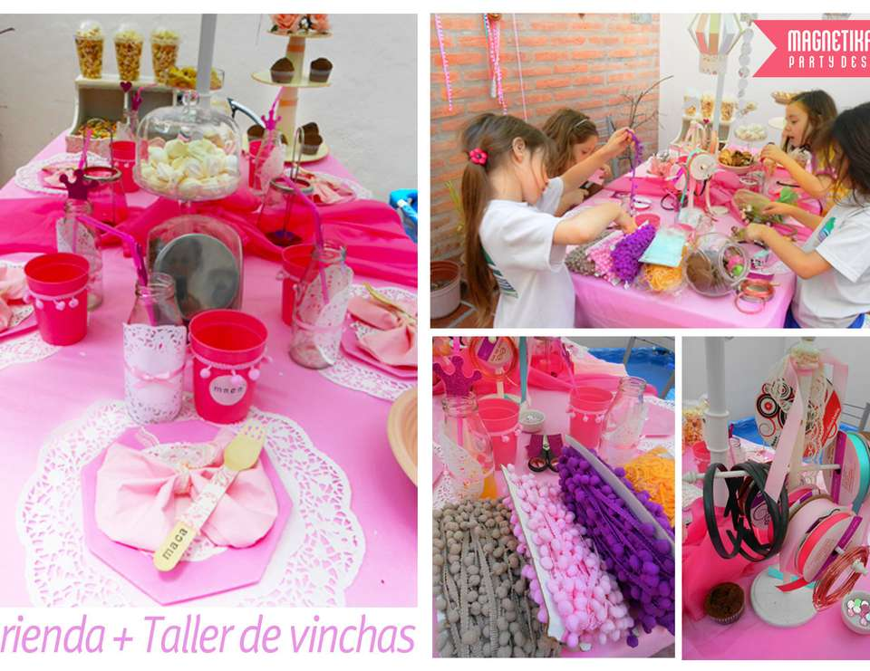 Tea Party - Taler de Vinchas - Tea Party - Taler de Vinchas