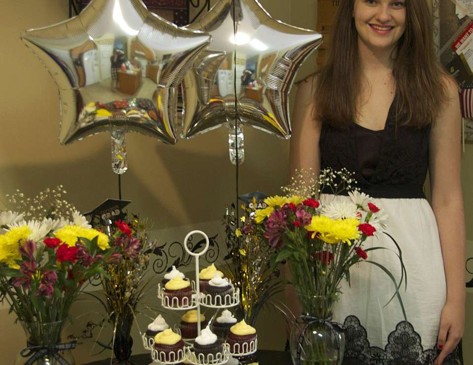 High School Graduation Dessert Table - Custom Theme