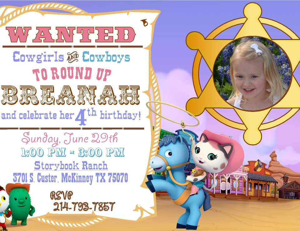 Sheriff Callies Wild West Cowgirl Birthday Party Birthday