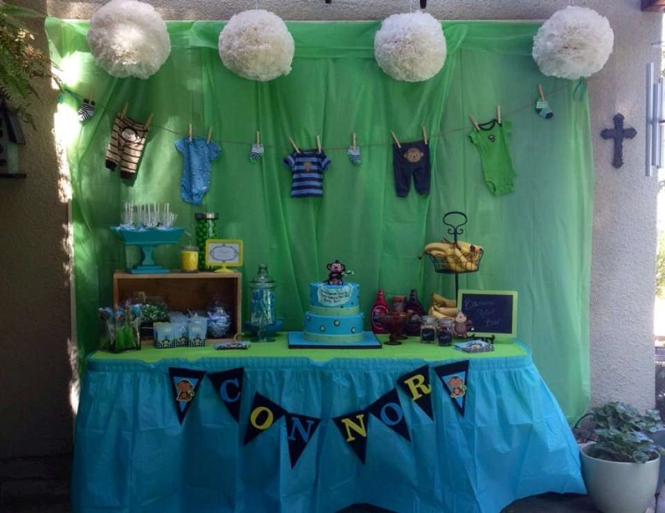 Samantha's Baby Shower - Monkey