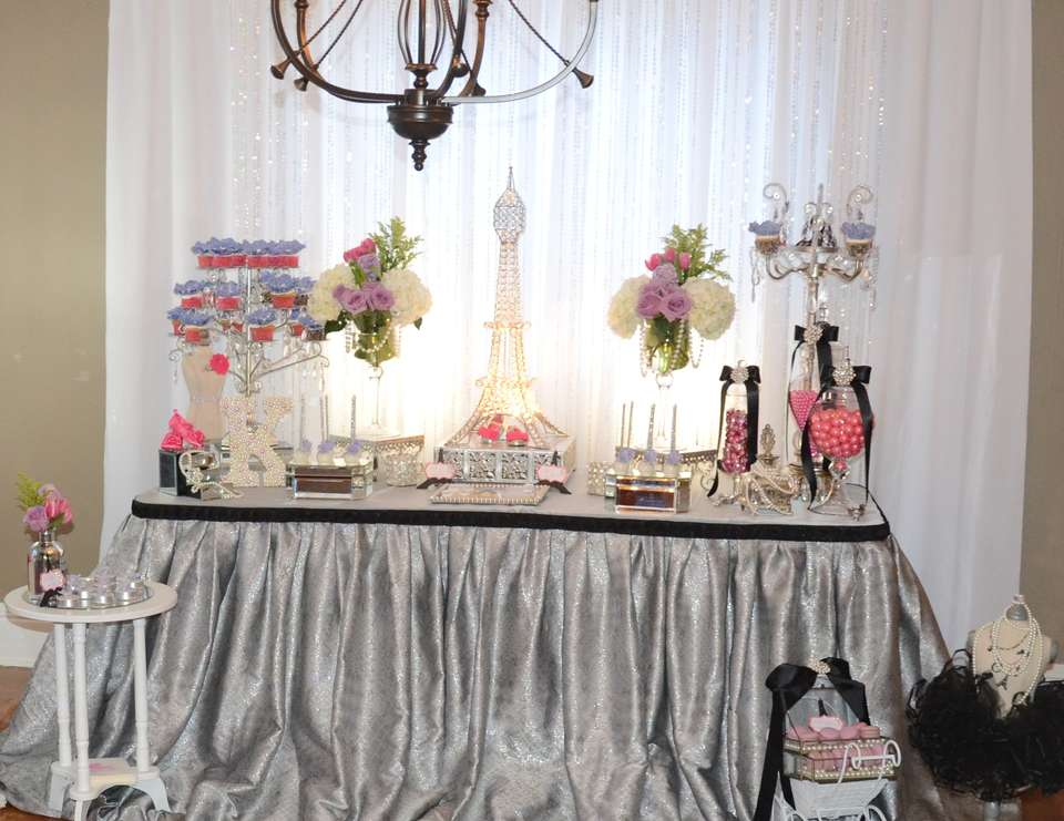 Paris Themed Baby Shower - French / Parisian
