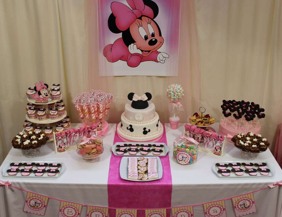 Minnie Mouse Pink Party  - Mickey Mouse / Minnie Mouse
