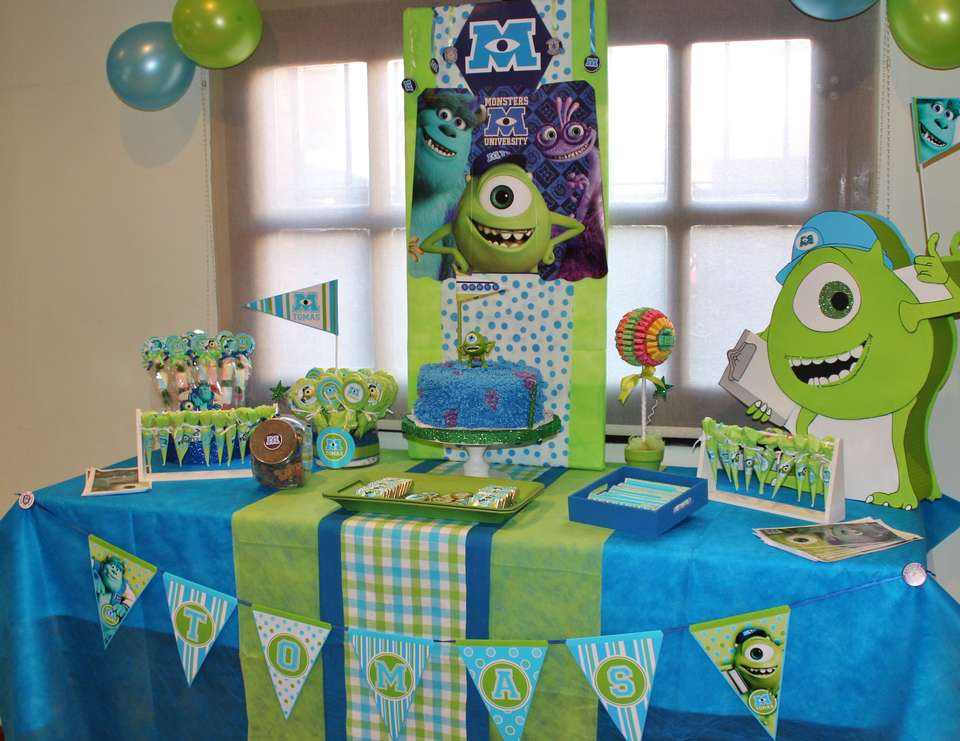 Monsters Inc Birthday Quot Tommy 180 S Monster Higth University