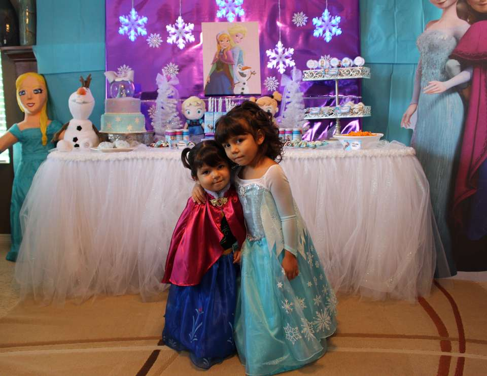 Frozen Birthday Frozen Theme Joint Birthday Party Catch My Party