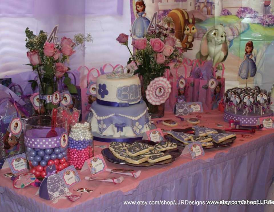 Isabella's Sofia the First Royal Party - Sofia the First