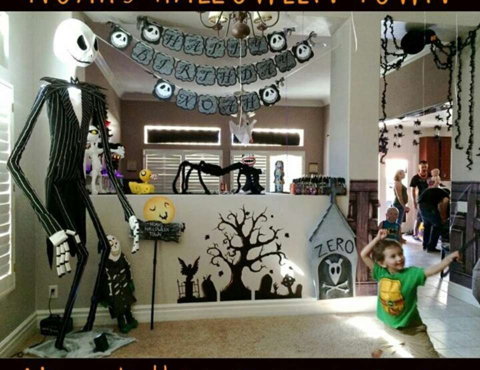 nightmare before christmas birthday quotnoah39s 5th birthday