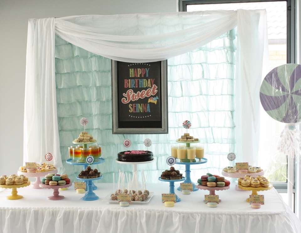 Sweet Sienna's Birthday Bash - Candy