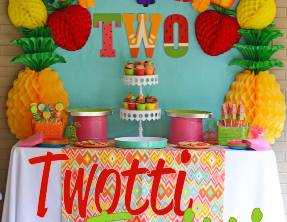 Avery's Two-tti Fruiiti Party - Fruit
