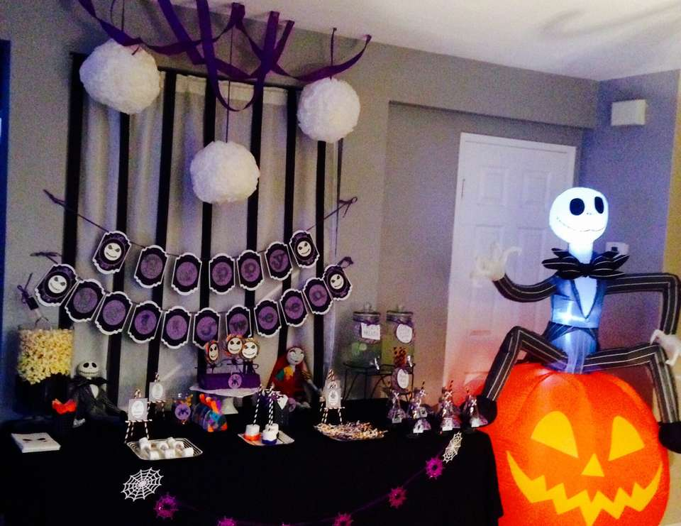 baby shower nightmare before christmas movie night nightmare before christmas