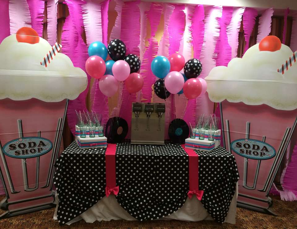 50 39 s theme sock hop birthday 80th birthday 50 39 s theme for 50 s party decoration