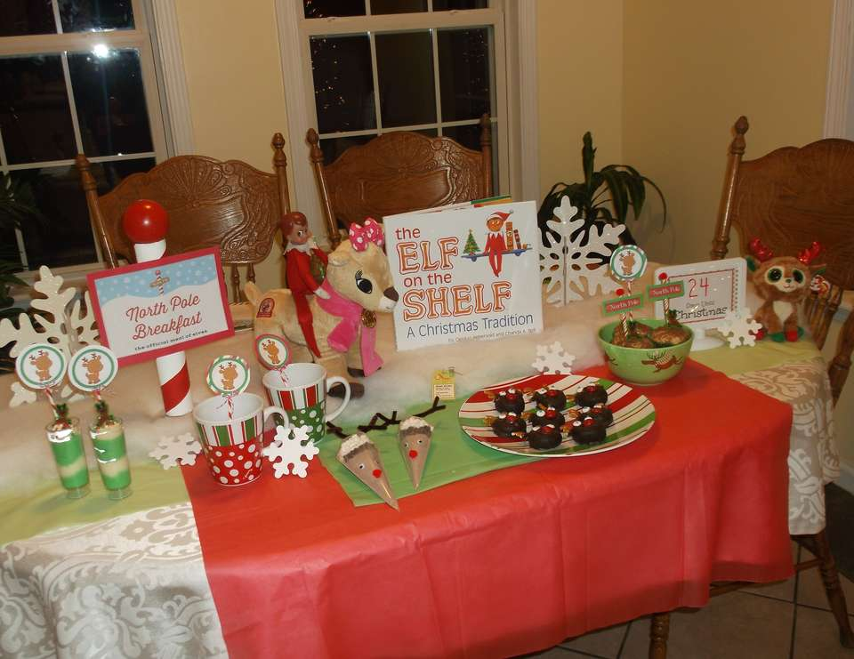 Elf on the Shelf 3rd Annual North Pole Breakfast - North Pole with Reindeer Breakfast