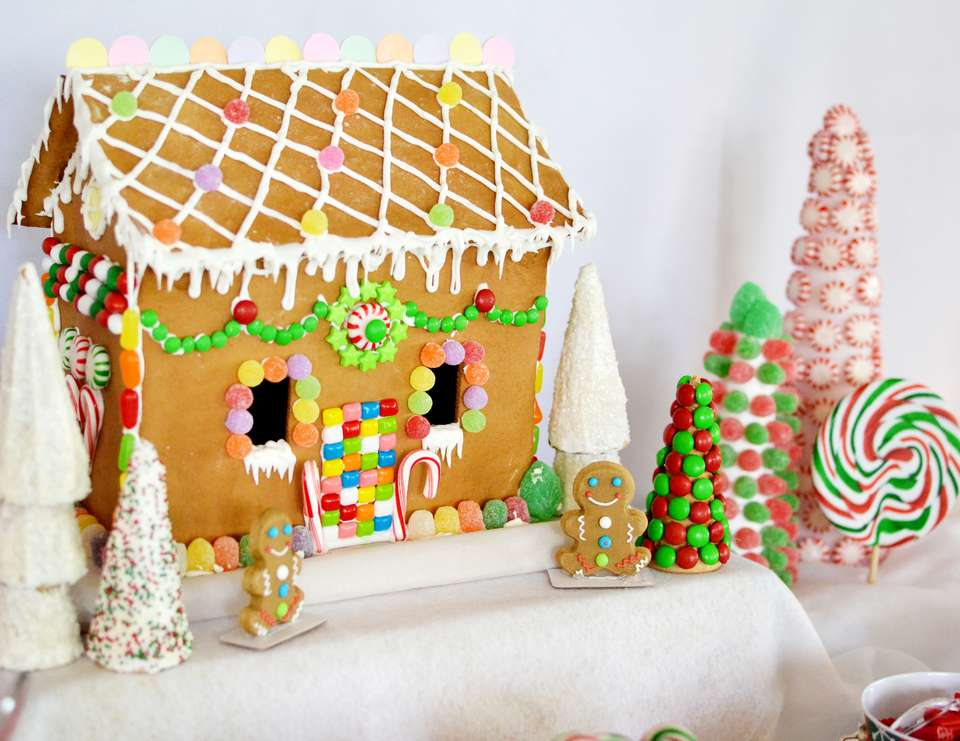 Candyland christmas holiday quot gingerbread house