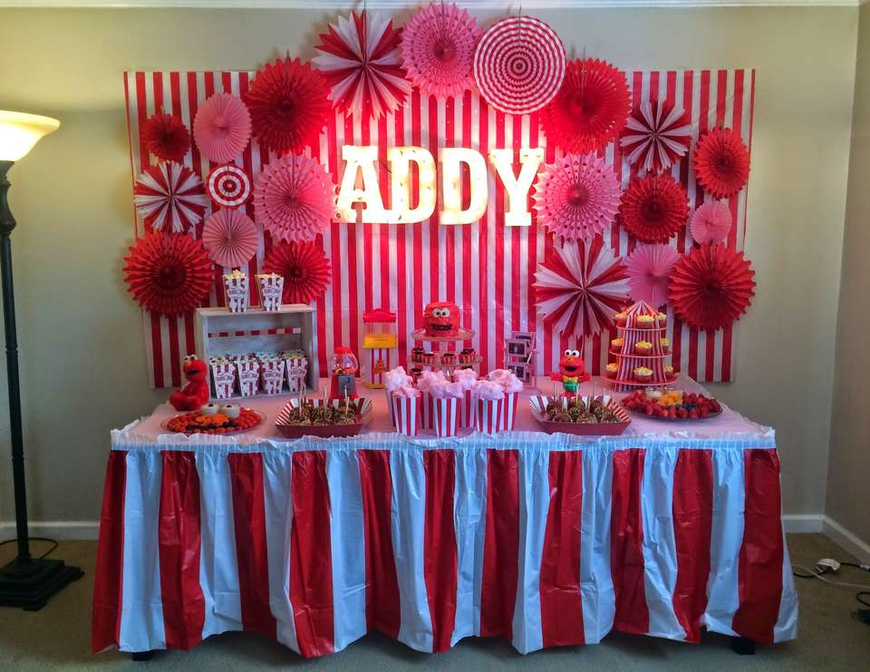 3rd birthday party ideas for girl my little addys elmo carnival 3rd birthday sesame street party ideas for girl catch my