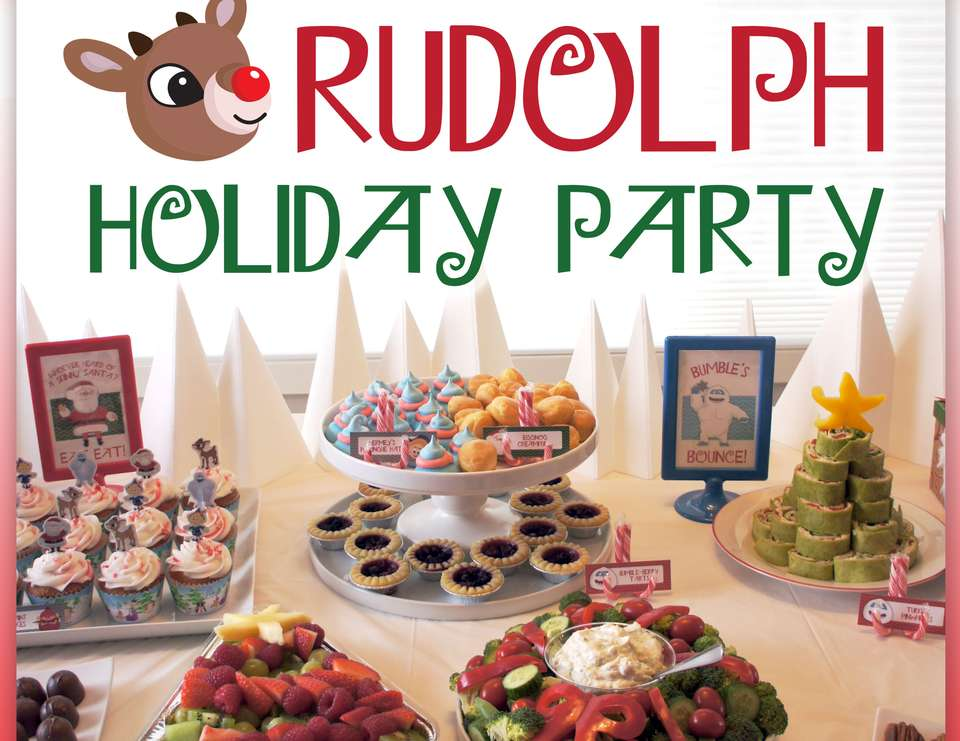 Rudolph Holiday Party - Rudolph the Red Nosed Reindeer