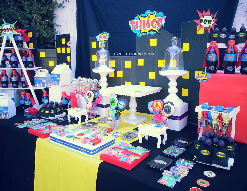 33 Avengers Theme Party Ideas For Kids Table Decorating