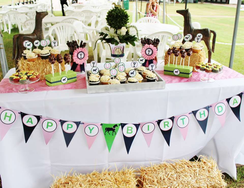 Kentucky Derby Birthday Brookes Preppy Polo Th Birthday Party - Children's birthday parties derbyshire