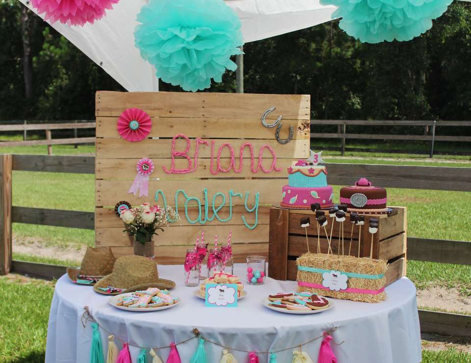 Very Sweet Cowgirl Party - Cowgirl Party