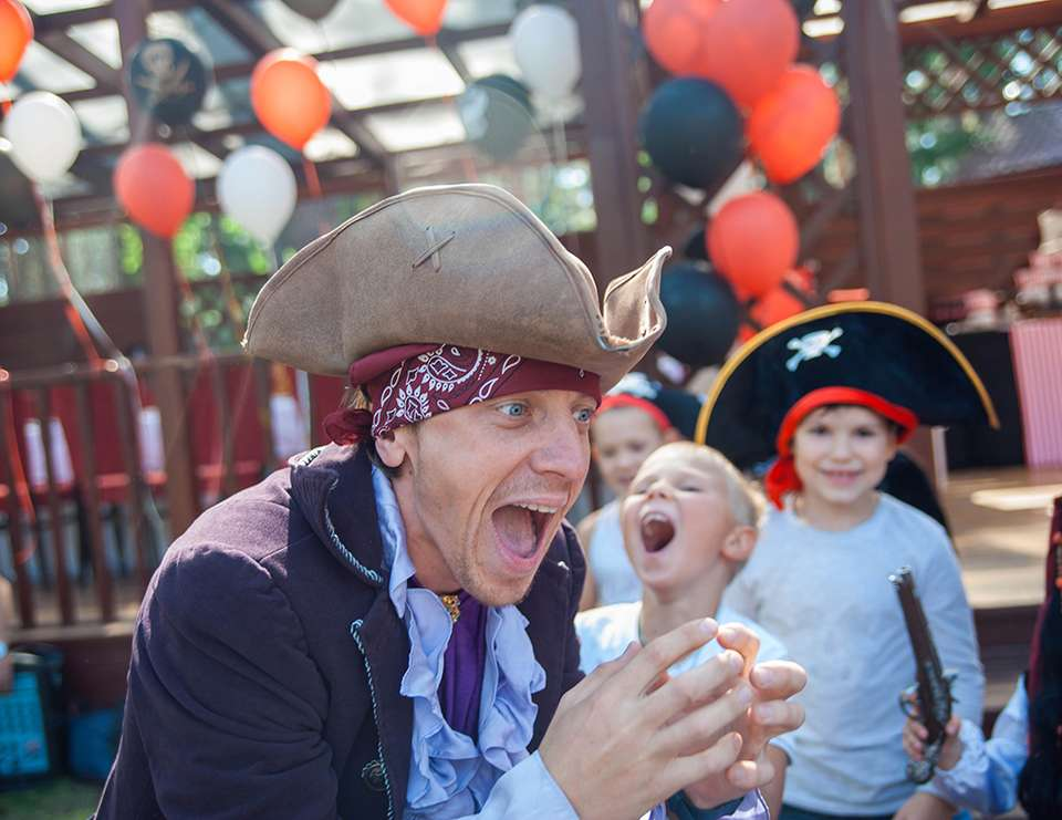 Pirate party for children - Mira7 years - Pirates