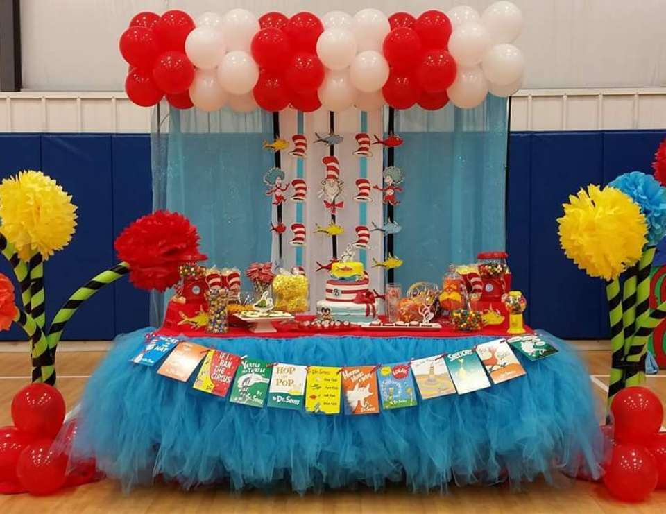 Dr Seuss Party Ideas for a Girl Birthday Catch My Party