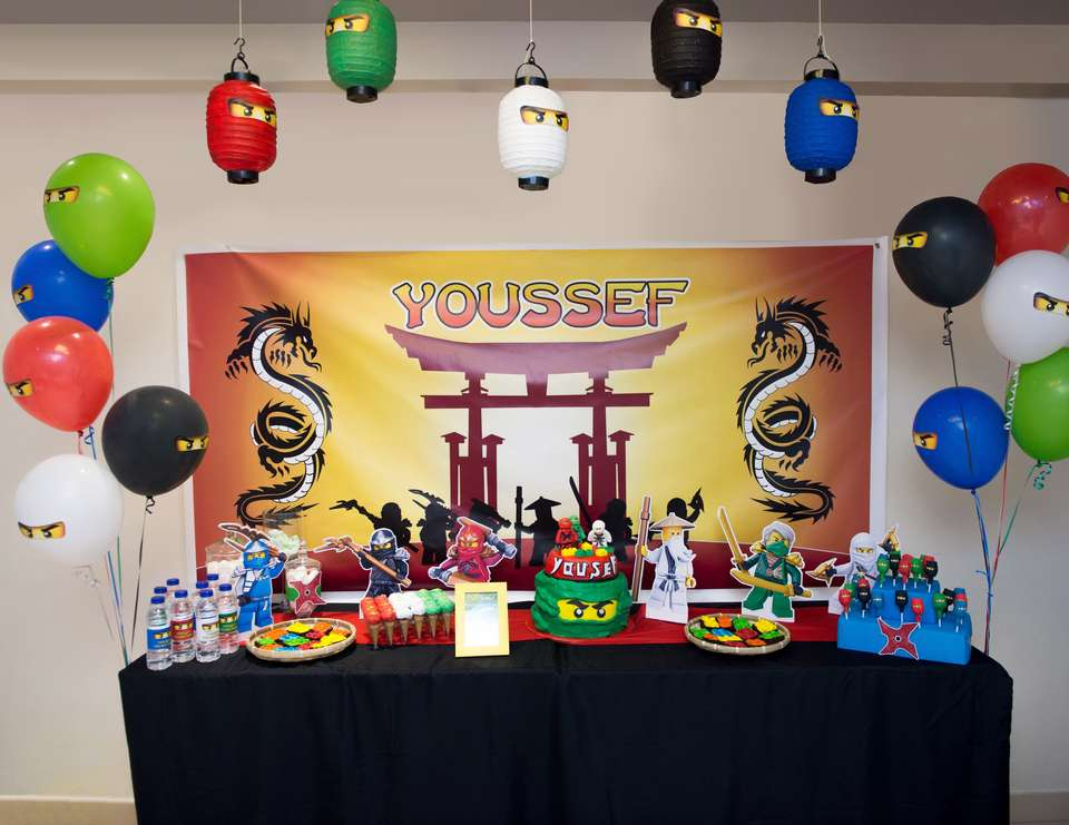 Ninjago Birthday Quot Youssef S Lego Birthday Quot Catch My Party